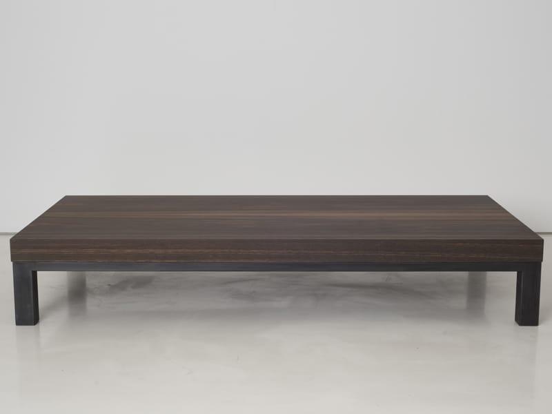 Mesa de centro baja de madera colecci n gandhi by interni - Mesa centro baja ...