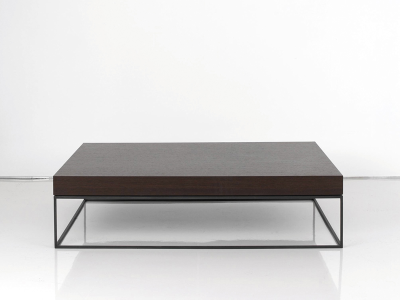 Houston coffee table by interni edition design janine for Low coffee table wood