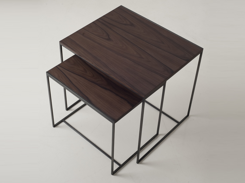Stackable Wooden Coffee Table Cube Gigogne Cube Collection By Interni Edition Design Janine