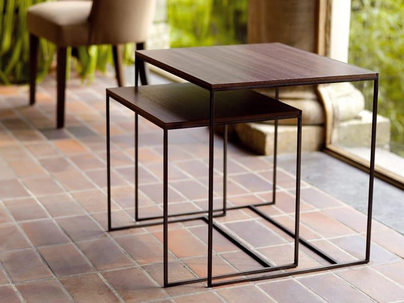 table gigogne en bois cube gigogne by interni edition design janine vandebosch. Black Bedroom Furniture Sets. Home Design Ideas
