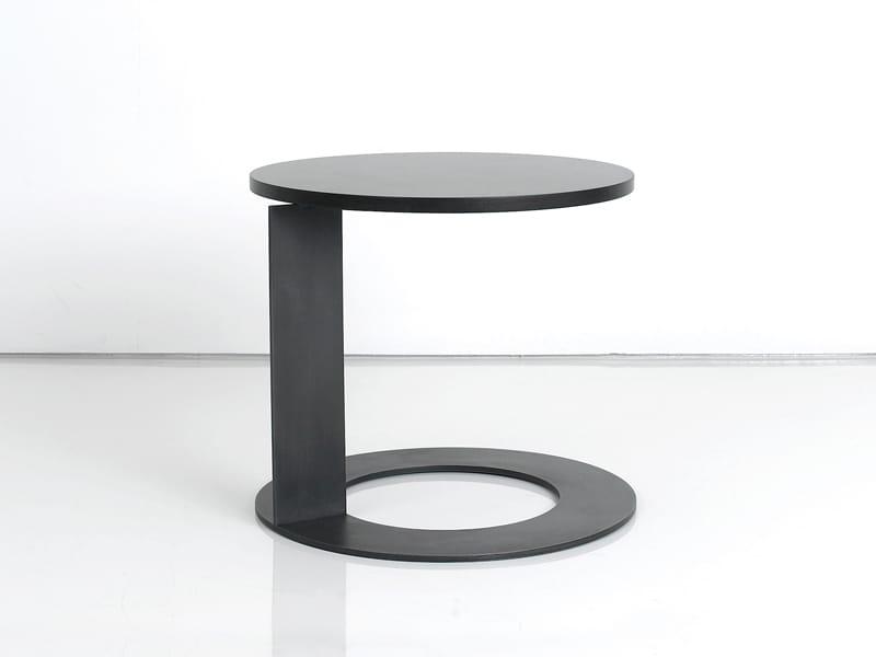 Round wooden coffee table TABL'O By INTERNI EDITION design Janine ...