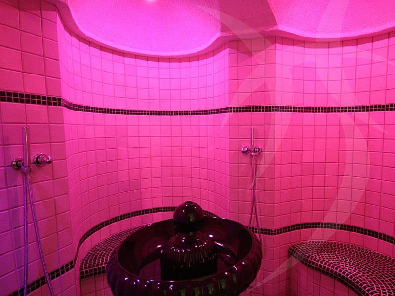 Bagno turco prefabbricato per aromaterapia aromarium happy sauna - Prodotti per sauna e bagno turco ...