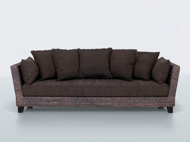 3 seater natural fibre sofa floride yo by interni edition for Interni furniture