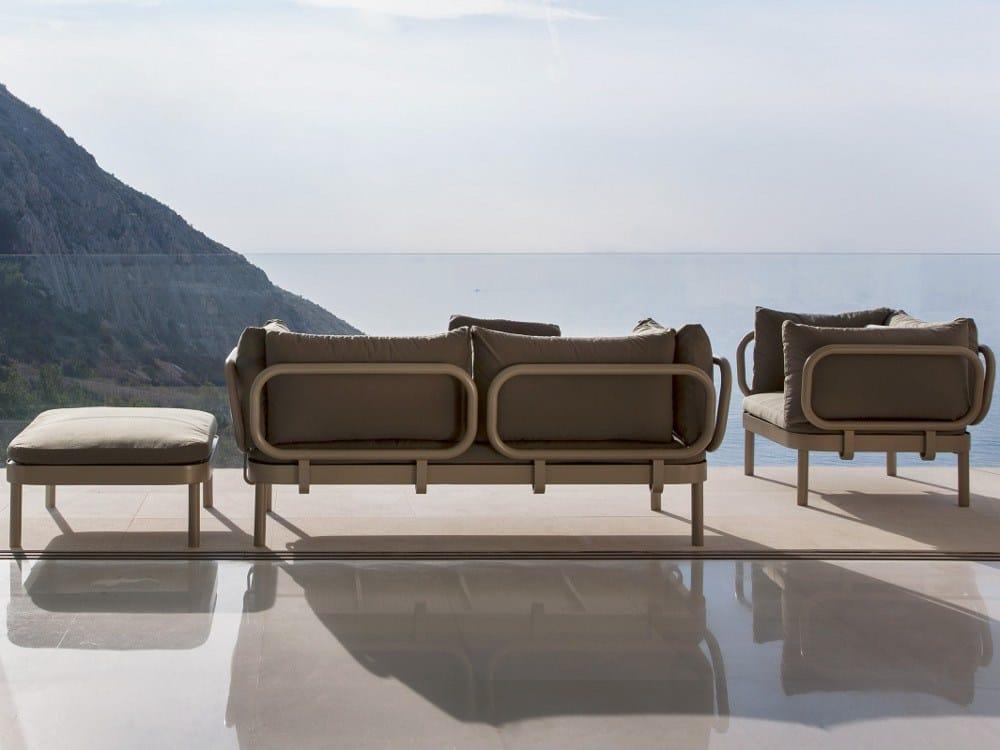 Tropez sofa by gandia blasco design stefan diez - Gandia blasco fundas nordicas ...
