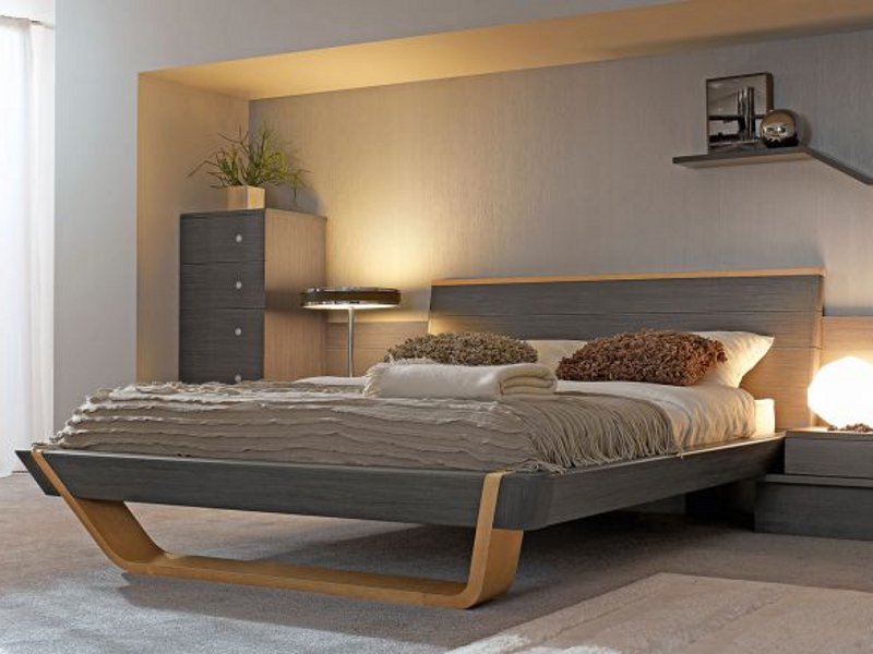 Shannon bed by gautier france - Lit mezzaclic 140x190 ...