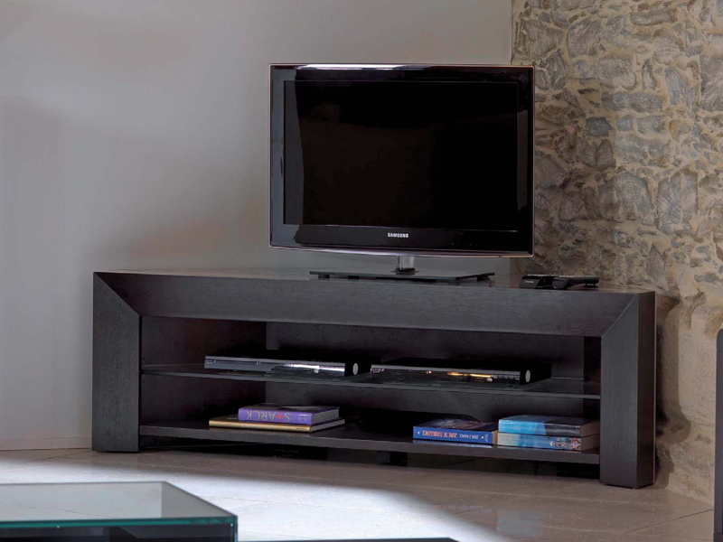 meuble tv d 39 angle meuble tv collection cocktails by gautier france. Black Bedroom Furniture Sets. Home Design Ideas