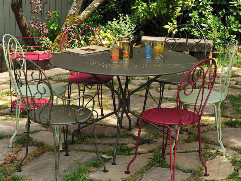 Salon de jardin fermob montmartre for Salon de jardin pour balcon