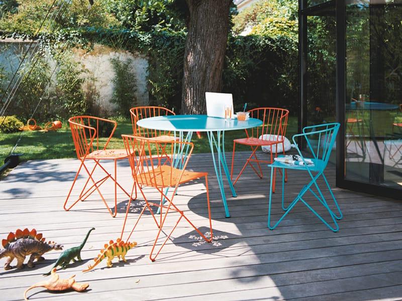 Flower Chaise De Jardin By Fermob Design Harald Guggenbichler