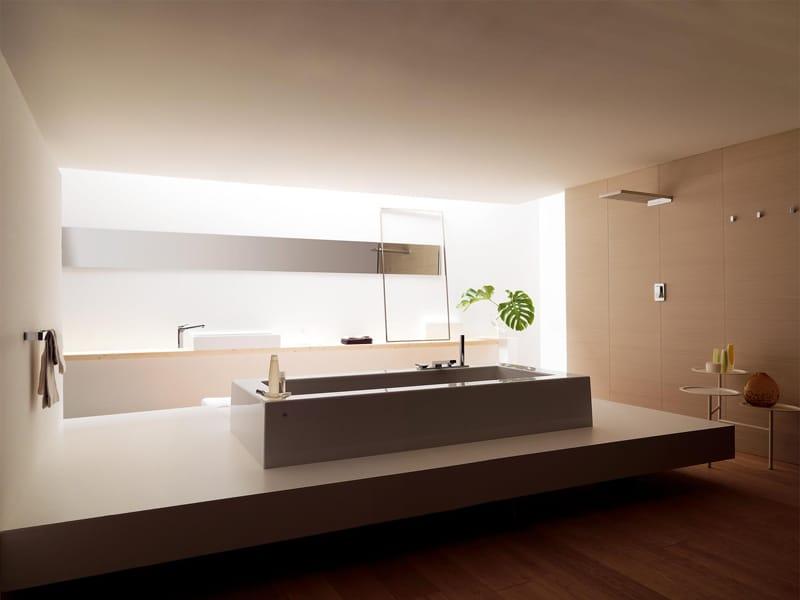 Vasca da bagno rettangolare grande by kos by zucchetti for Immagini di arredo bagno