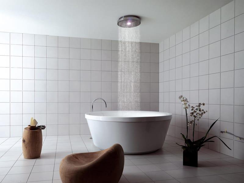 Vasca da bagno rotonda in metacrilato geo 180 by kos by - Kos vasche da bagno ...