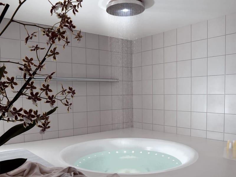 Vasca da bagno rotonda in metacrilato geo 180 by kos by - Vasca da bagno rotonda ...