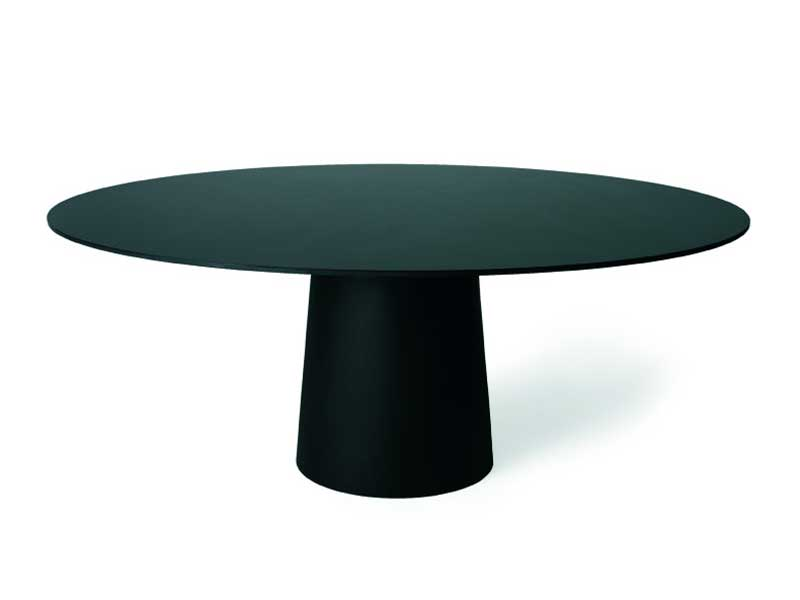 Tavolo Rotondo In Resina Container Table 180 Round By