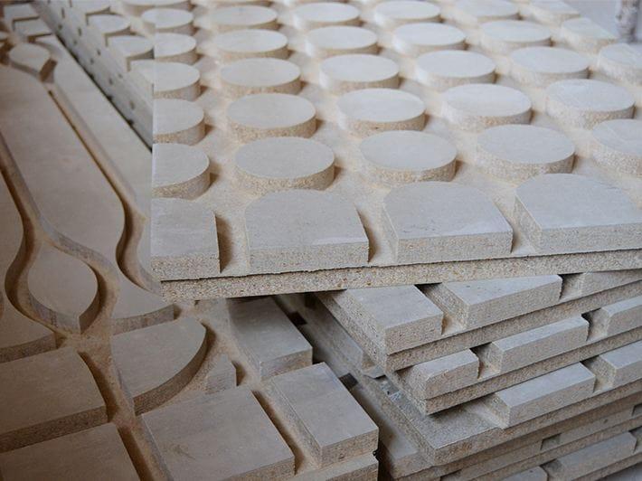 Pannello radiante a pavimento in cemento legno - Panel madera cemento ...