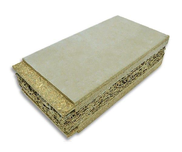 Panel aislante t rmico de madera cemento betonwall by for Panel aislante termico
