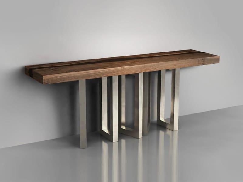 Il pezzo 6 table console by il pezzo mancante design - Ikea tavolo consolle allungabile ...
