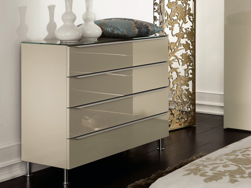 metis plus lacquered chest of drawers by h lsta werke h ls. Black Bedroom Furniture Sets. Home Design Ideas