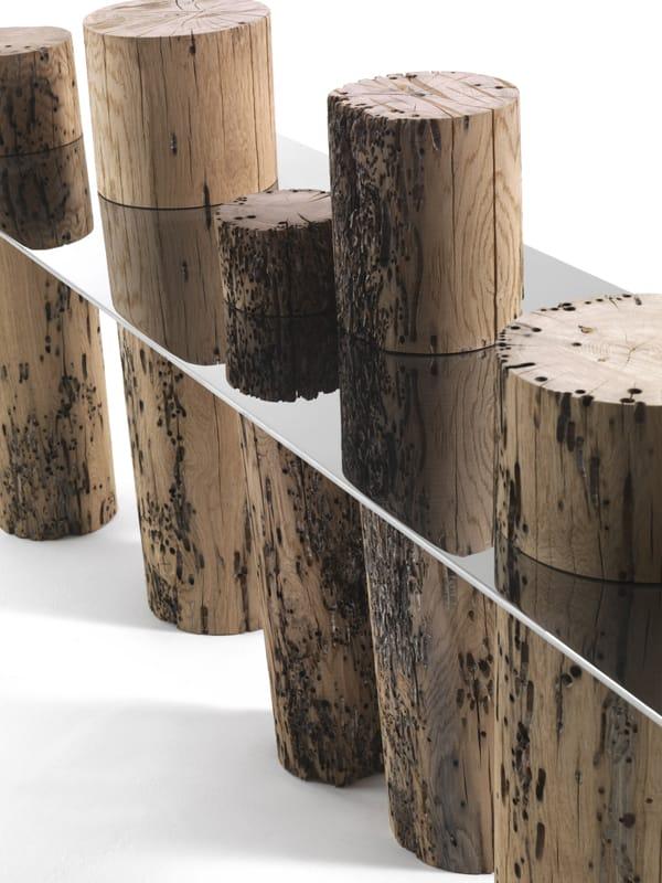 Collezione Briccole Riva 1920 : Consolle in legno di briccola venice by riva design