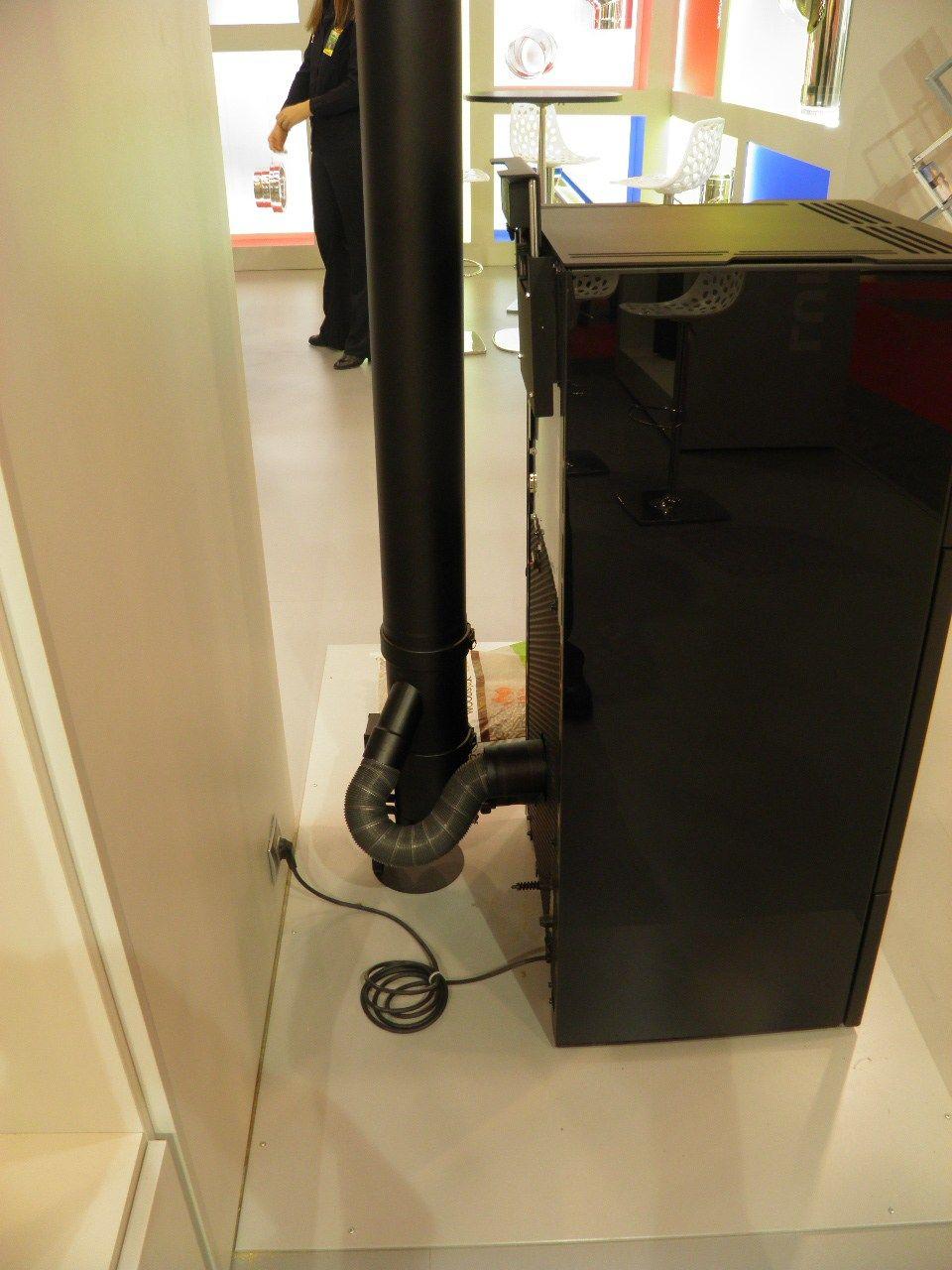 conduit d 39 vacuation de la fum e en acier inoxydable dualis pgi by ala distributore poujoulat. Black Bedroom Furniture Sets. Home Design Ideas
