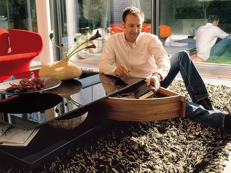 ct 90 couchtisch aus lackiertem glas by h lsta werke h ls. Black Bedroom Furniture Sets. Home Design Ideas
