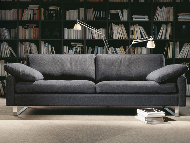 conseta sofa aus stoff by cor sitzm bel helmut l bke. Black Bedroom Furniture Sets. Home Design Ideas