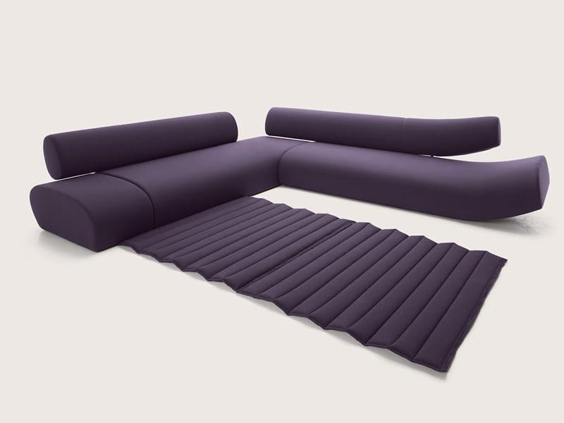 Sectional upholstered sofa lava by cor sitzmobel helmut for Design studio sectional sofa