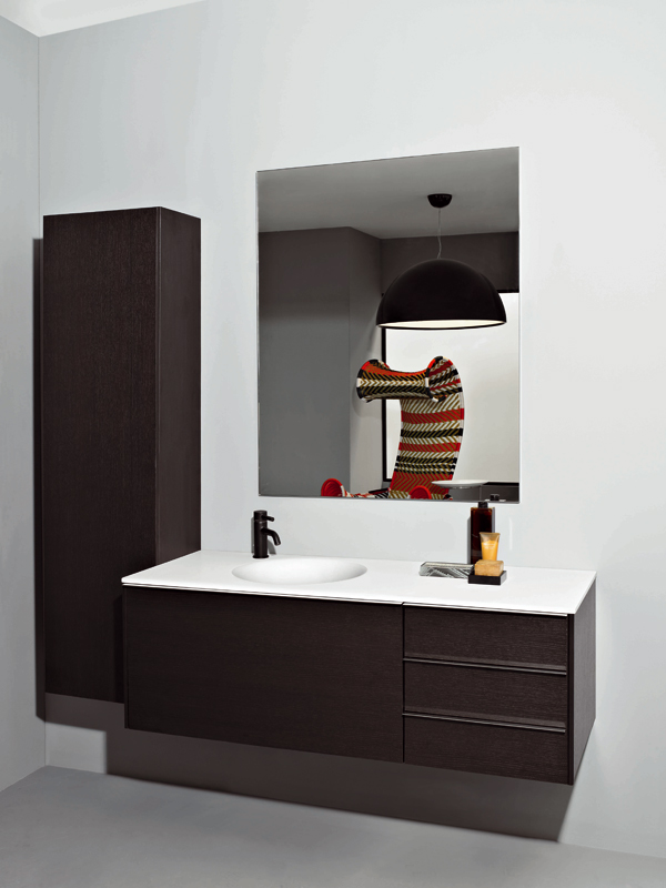 Morphing mobile bagno a colonna by kos by zucchetti design - Mobile colonna bagno ...