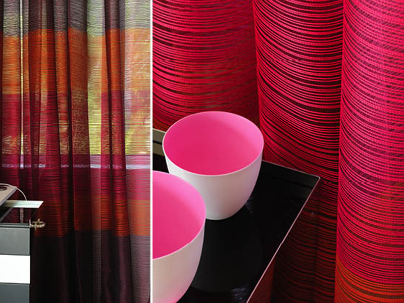 Fire Retardant Polyester Fabric For Curtains Lounge By Elitis