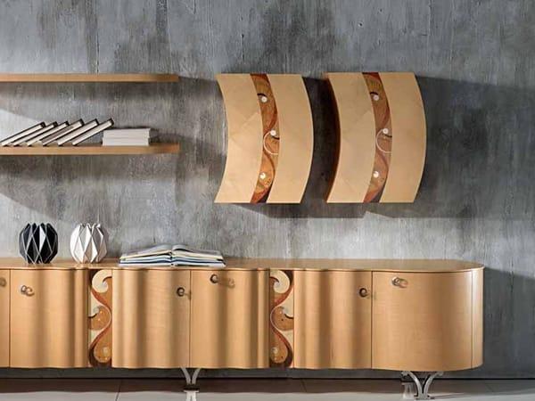 MISTRAL Hängeschrank aus Holz by Carpanelli Contemporary