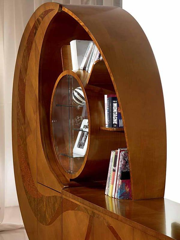 Madia in legno con ante a battente chiocciola by carpanelli - Carpanelli mobili ...