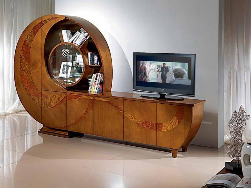 Madia in legno con ante a battente chiocciola by carpanelli - Mobili carpanelli ...