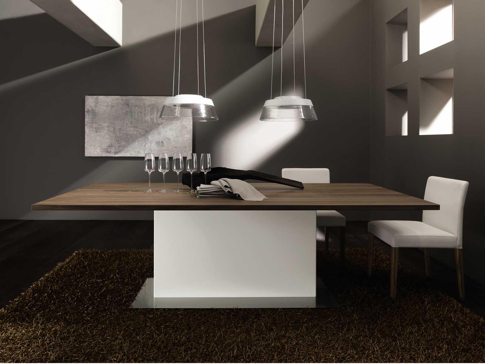 et 1500 tavolo da pranzo by h lsta werke h ls. Black Bedroom Furniture Sets. Home Design Ideas