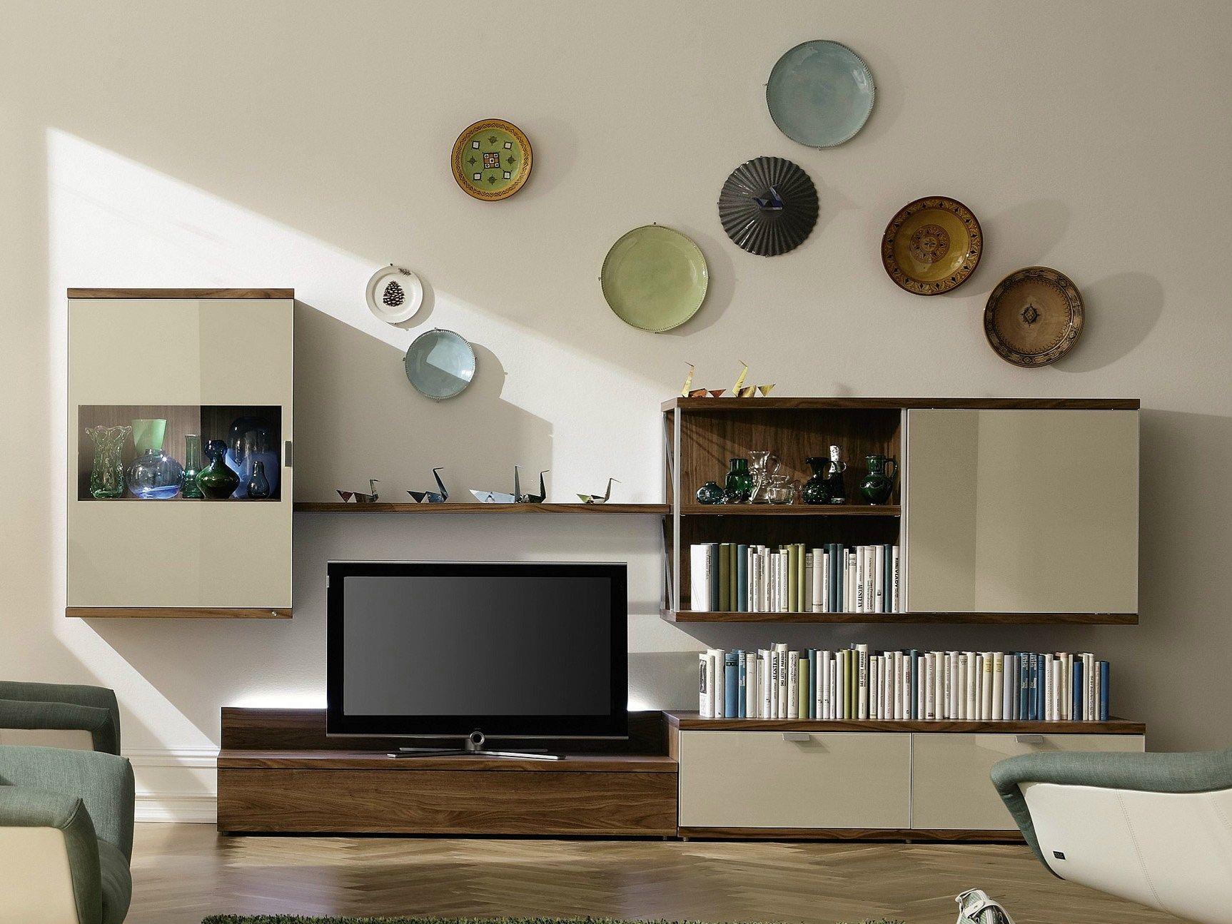 TAMETA Parete attrezzata con porta tv by Hülsta-Werke Hüls