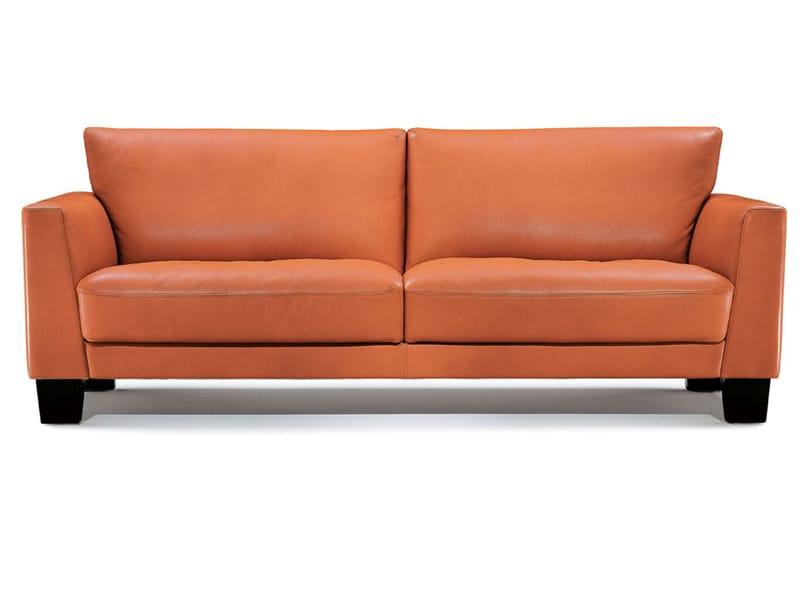 sofa aus leder kollektion odessa by wittmann design andreas weber. Black Bedroom Furniture Sets. Home Design Ideas