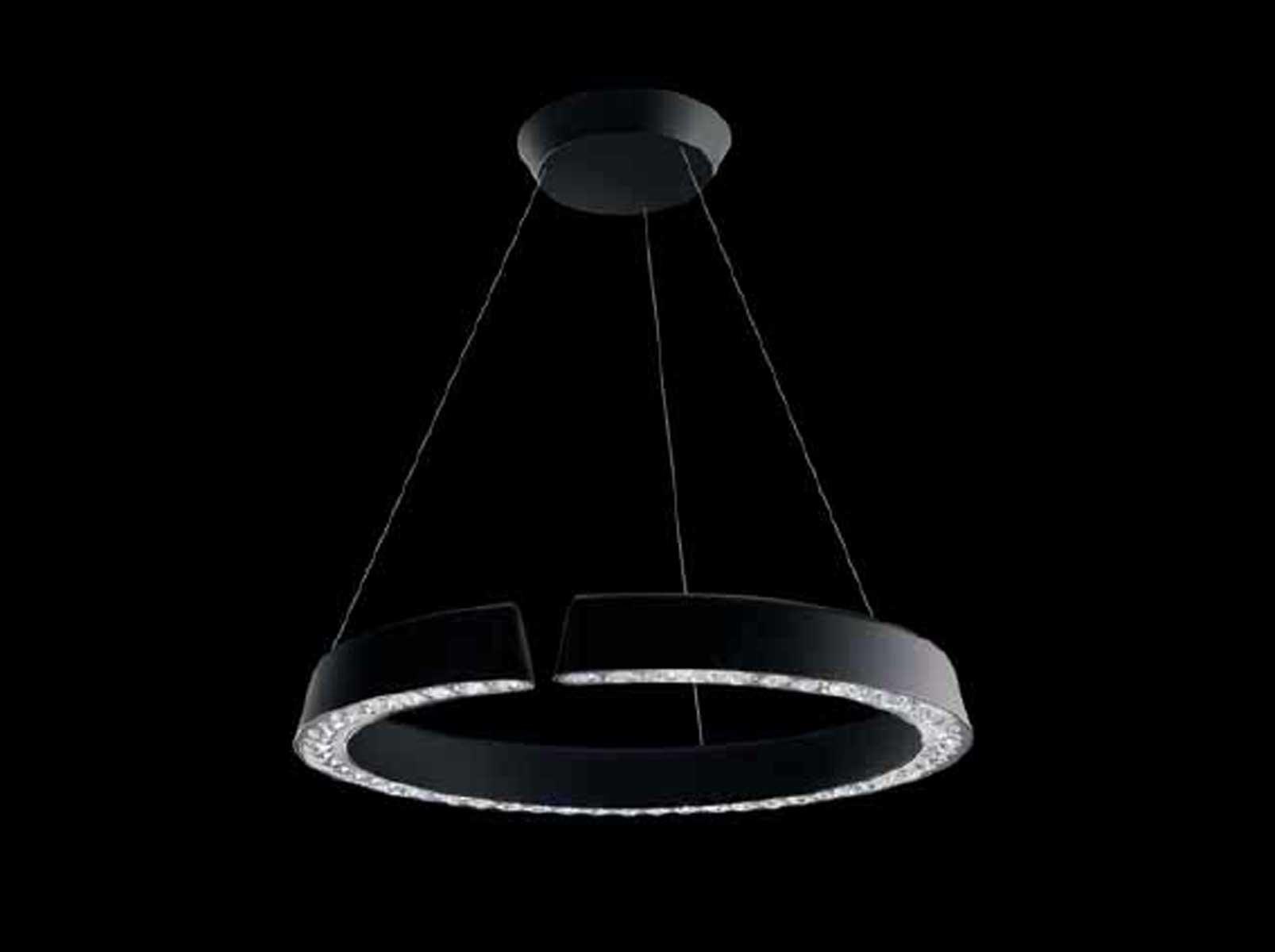 INSIDE/OUT Pendant lamp by Swarovski design Stephen Burks