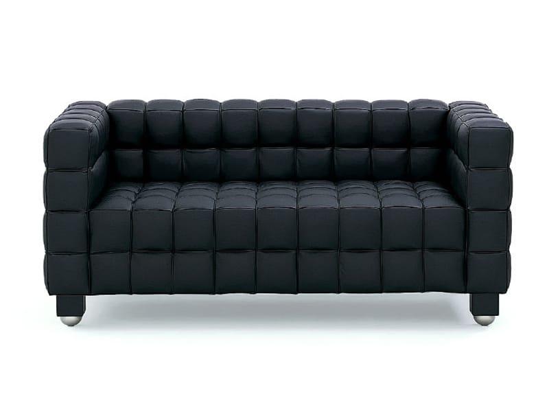 kubus sofa by wittmann design josef hoffmann. Black Bedroom Furniture Sets. Home Design Ideas