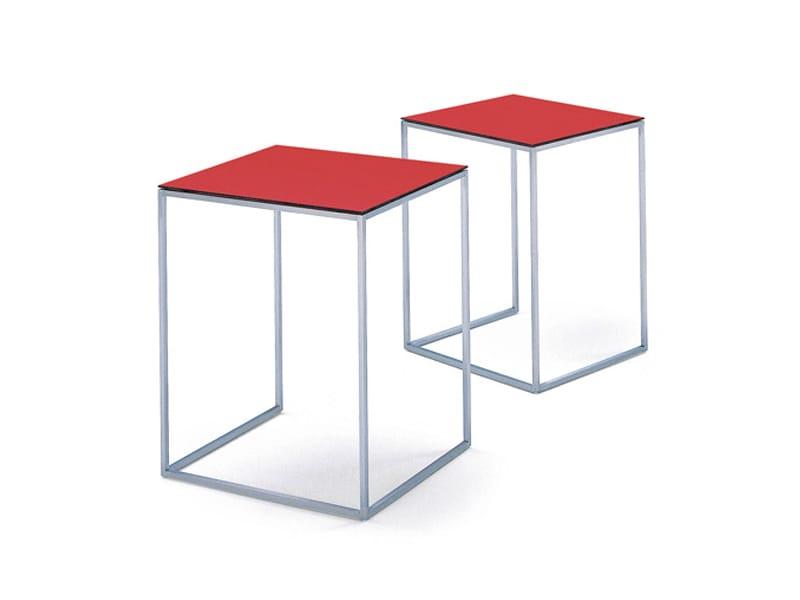 Steel Coffee Table Kyoto Satztische By Wittmann Design Andreas Struppler