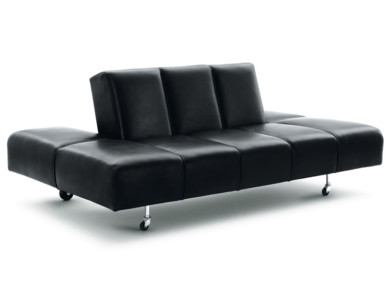Lounge sofa leder  Verstellbares Sofa aus Leder PARTY LOUNGE By Wittmann Design ...
