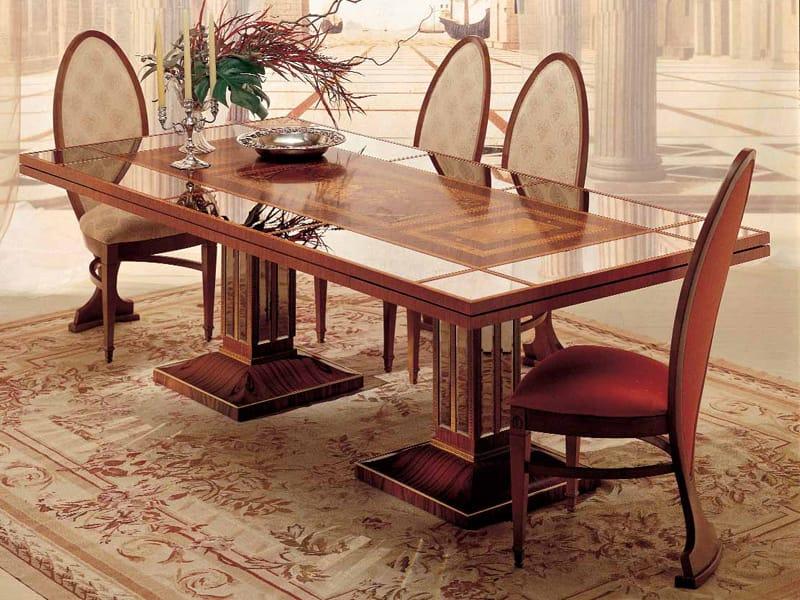 Tavolo allungabile da pranzo collezione luci della ribalta - Tavolo allungabile a ribalta ...