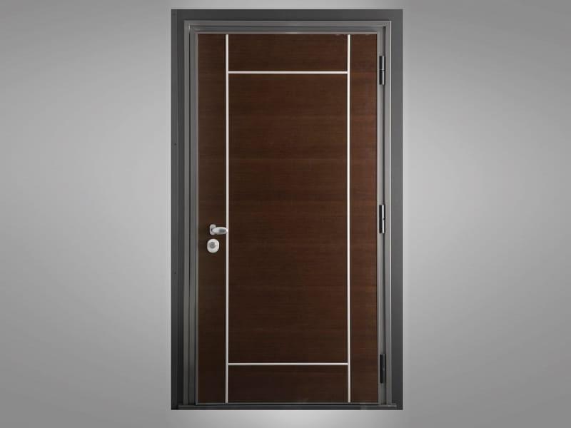 Porta d'ingresso blindata in legno BLINDO by QUARTIERI LUIGI