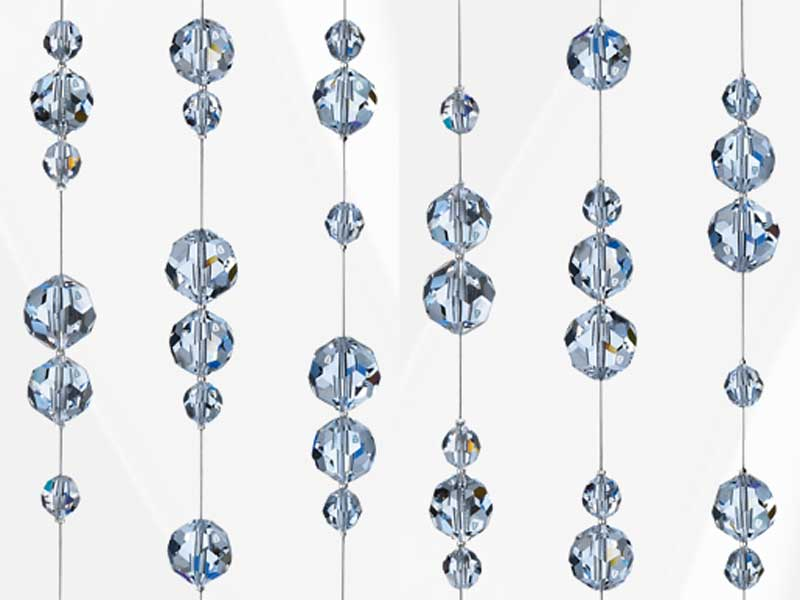 Hanging decoration with swarovski crystals stainless for Swarovski decoration crystals