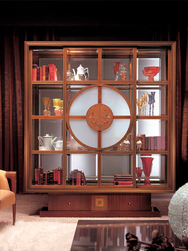 Bookcase display cabinet il quadro by carpanelli classic - Decoracion de vitrinas de comedor ...