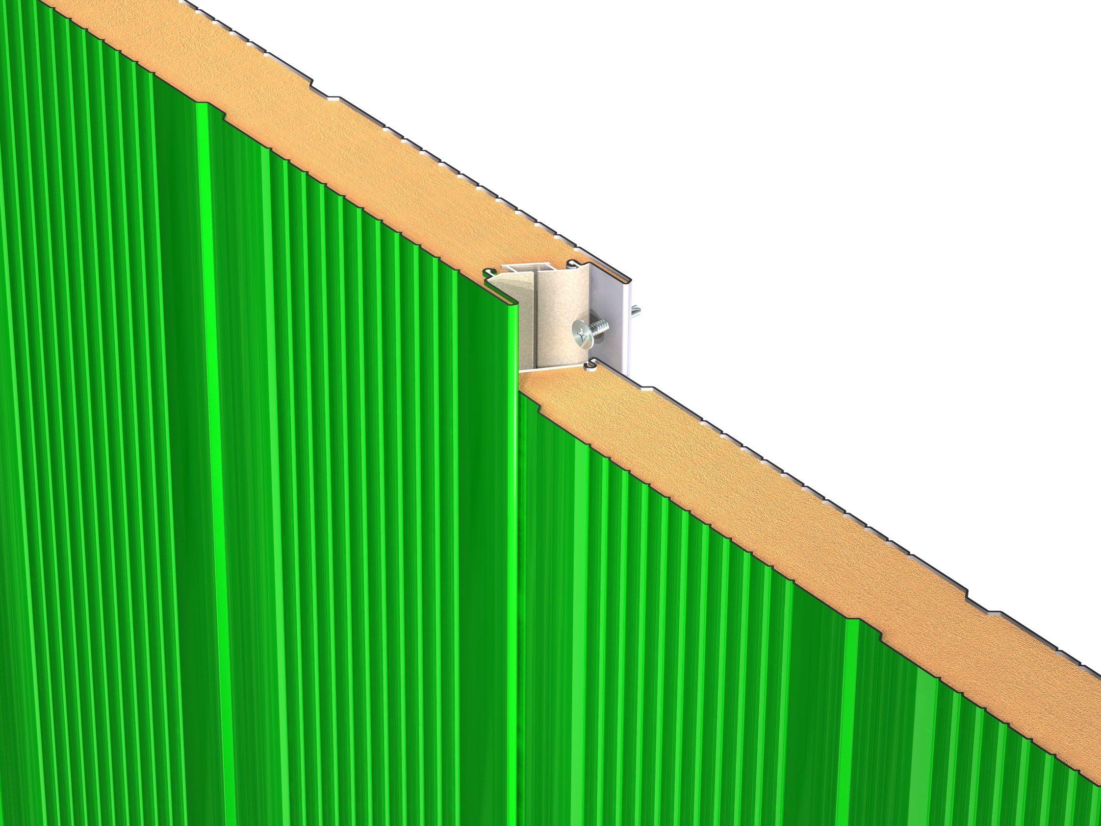 Pannelli metallici isolanti monolitici per pareti e - Pannelli per pareti interne ...