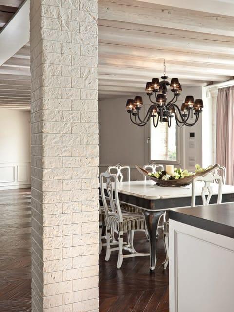 Rivestimento in cemento effetto pietra muro stampato by - Mattoncini per rivestimento interno ...