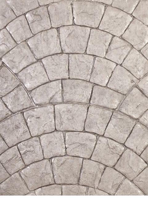 Baldosas de exterior de hormig n stamped concrete by ideal - Baldosas hormigon exterior ...