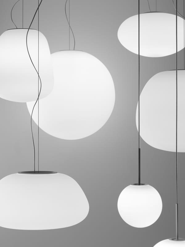 Lumi poga lampada a sospensione by fabbian design alberto saggia ...