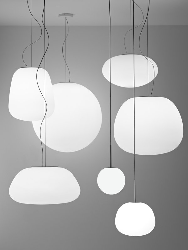 lampadario a palla : LUMI POGA Suspension by Fabbian design Alberto Saggia, Valerio ...