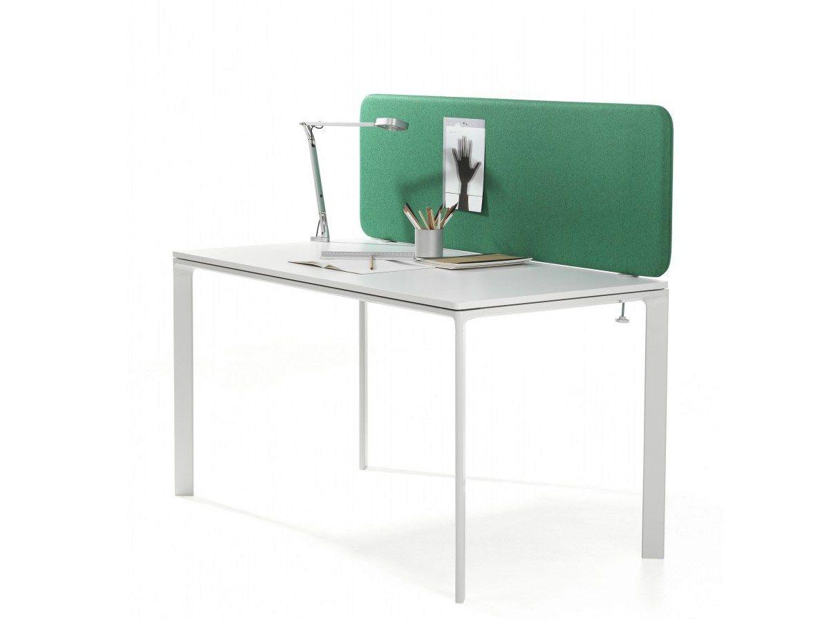 softline schreibtisch trennwand f r schreibtisch by abstracta. Black Bedroom Furniture Sets. Home Design Ideas