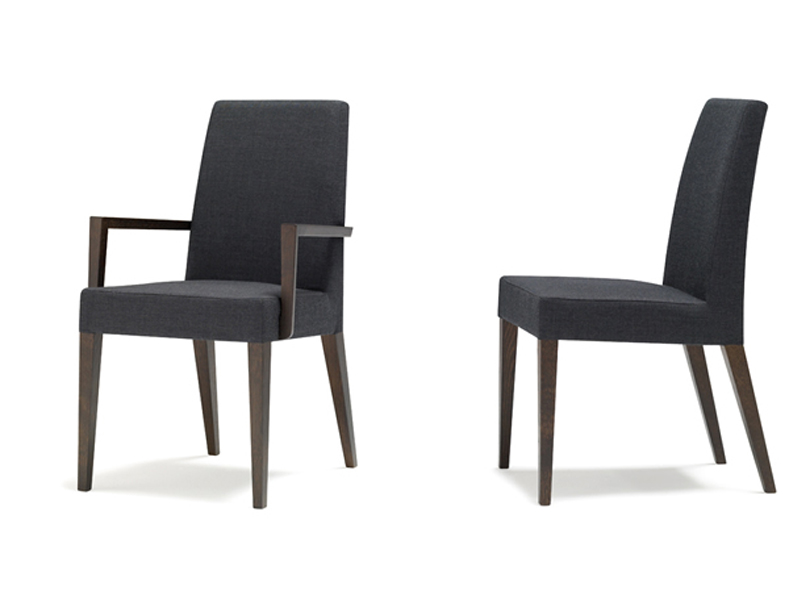 Anne luxe chair by andreu world - Chaise de luxe design ...