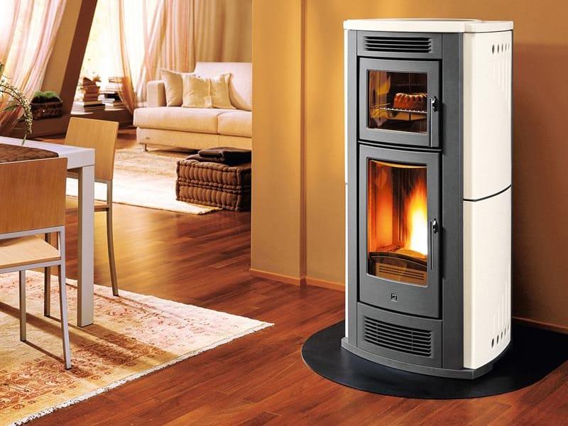 P960 estufa de pellets by piazzetta - Estufas de pellets para pisos ...