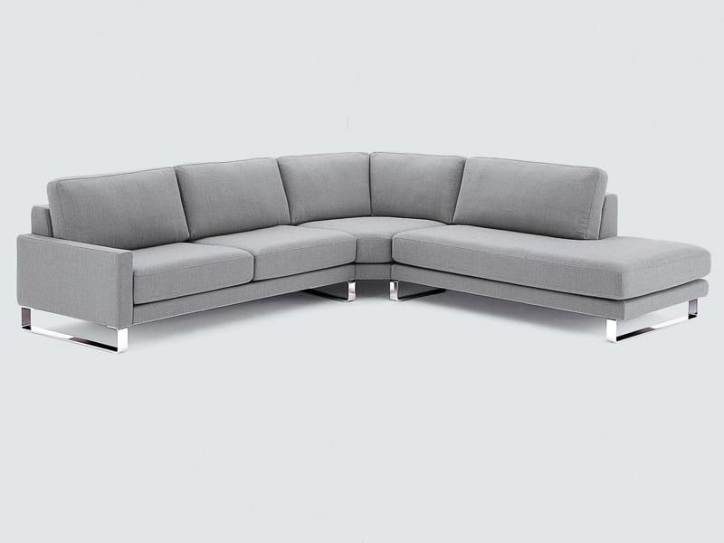 divano angolare in tessuto collezione ego by rolf benz design edgar reuter. Black Bedroom Furniture Sets. Home Design Ideas